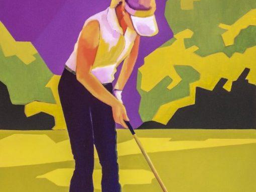 La golfeuse