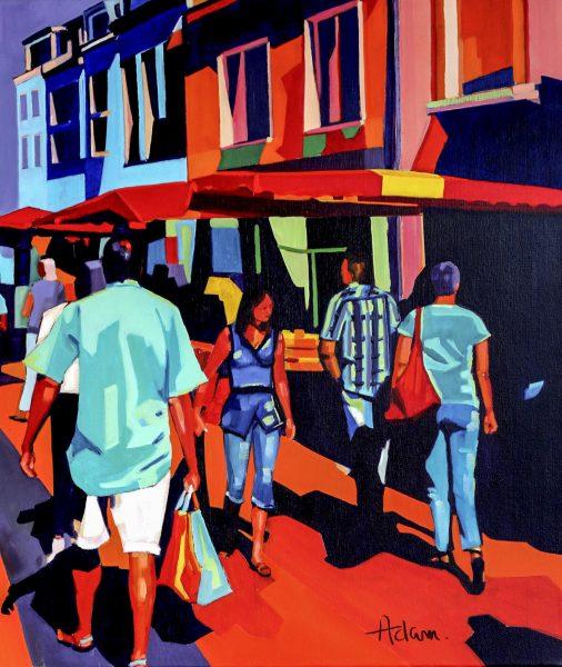 Promenade au marché