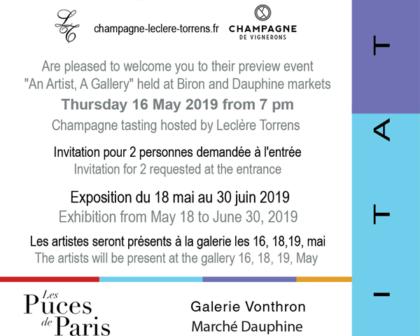 ADAM Exposition Galerie Vonthron